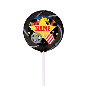 "Movie Party Personalized 2"" Lollipops (24 Pack)"