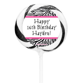 """Birthday Personalized 3"""" Whirly Pop (24 Pack)"""
