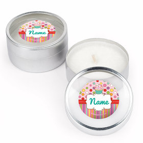 Sweet Party Personalized Candle (Set of 12)