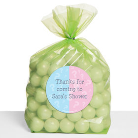 Gender Reveal Personalized Cello Bags (Set of 30)