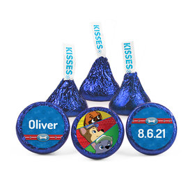 Personalized Birthday Paw Command Hershey's Kisses (50 pack)