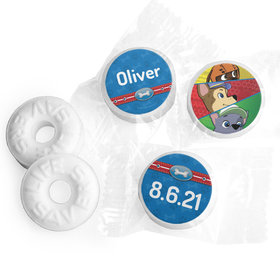 Personalized Birthday Paw Command Life Savers Mints
