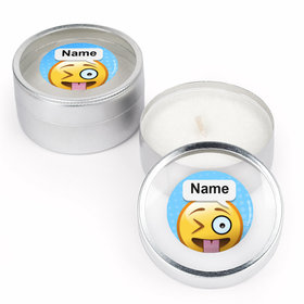 Emojis Personalized Candle (Set of 12)