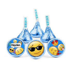 Personalized Kids Birthday Emoji Hershey's Kisses (50 pack)