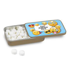 Emojis Personalized Mint Tin (12 Pack)