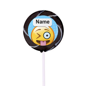"Emojis Personalized 2"" Lollipops (24 Pack)"