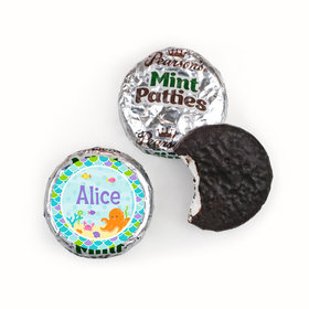 Personalized Birthday Mermaid Friends Pearson's Mint Patties