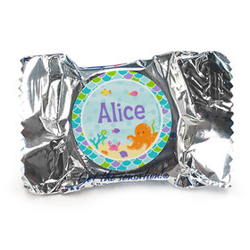 Personalized Birthday Mermaid Friends Peppermint Patties