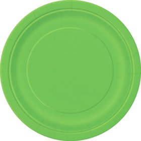 Lime Luncheon Plates (16 Count)