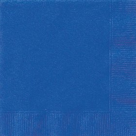 Royal Blue Luncheon Napkins (20 Count)
