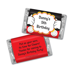 Personalized Birthday Mickey Party Hershey's Miniatures Wrappers
