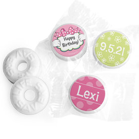 Personalized Birthday Miss Mouse Life Savers Mints