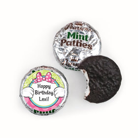 Personalized Birthday Miss Mouse Pearson's Mint Patties