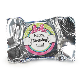 Personalized Birthday Miss Mouse Peppermint Patties