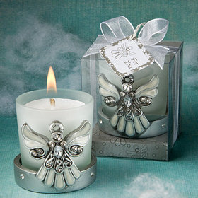 Angel Themed Candle Holder