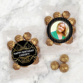Personalized Birthday Candy Bags with Premium Gourmet Sparkling Prosecco Cordials