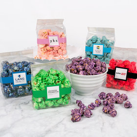 Personalized Business Add Your Logo Candy Coated Popcorn 3.5 oz Bags