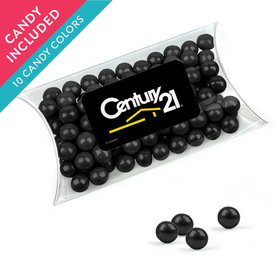 Personalized Business Add Your Logo Favor Assembled Pillow Box with Sixlets