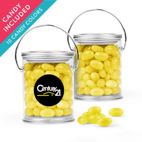 Personalized Business Add Your Logo Favor Assembled Paint Can with Just Candy Jelly Beans