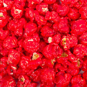 Candy Coated Red Popcorn