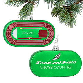 Track and Field Ornament