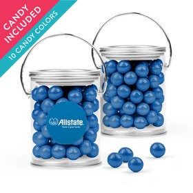 Personalized Thank You Favor Assembled Paint Can with Sixlets