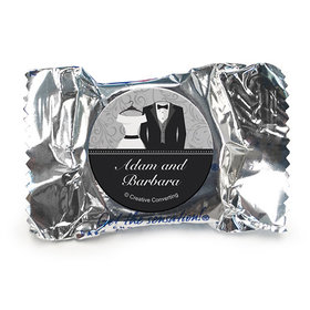 Personalized Wedding Couple York Peppermint Patties