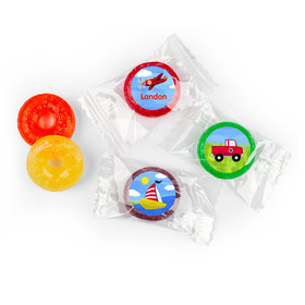 Personalized Birthday Sky & Sea Life Savers 5 Flavor Hard Candy (300 Pack)