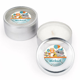 Woodland Baby Personalized Candle (Set of 12)