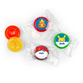 Personalized Birthday Pokemon Themed Life Savers 5 Flavor Hard Candy