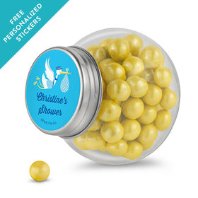 Baby Shower Personalized Mini Side Jar Special Delivery (24 Pack)