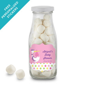 Baby Shower Personalized Milk Bottle Special Delivery (12 Pack)