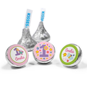 Personalized Birthday Butterfly Hershey's Kisses (50 Pack)