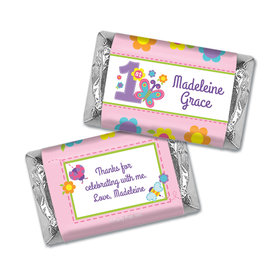 Personalized Birthday Butterfly Miniatures Wrappers
