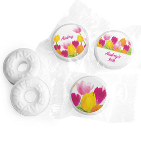 Personalized Birthday Tulips Life Savers Mints (300 Pack)