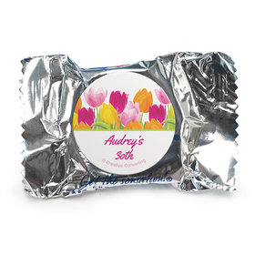 Personalized Birthday Tulips York Peppermint Patties
