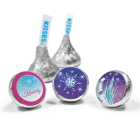 Personalized Birthday Ice Princess Hershey's Kisses (50 Pack)