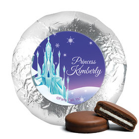 Personalized Birthday Ice Princess Milk Chocolate Covered Oreos (24 Pack)