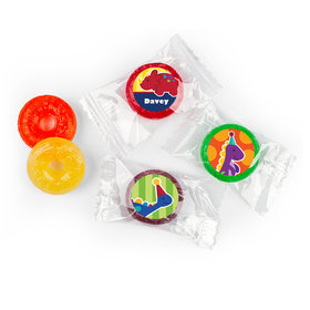 Personalized Birthday Dinosaurs & Balloons Life Savers 5 Flavor Hard Candy (300 Pack)