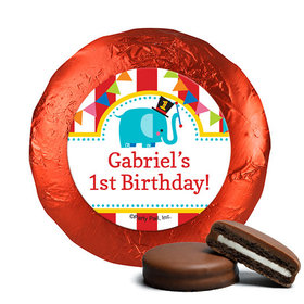 Personalized Birthday Circus Belgian Chocolate Covered Oreos (24 Pack)