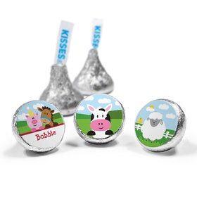Personalized Birthday Farmhouse Hershey's Kisses (50 Pack)