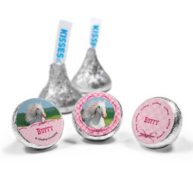 Personalized Birthday Horse Hershey's Kisses (50 Pack)