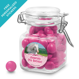 Birthday Personalized Latch Jar Heart My Horse (12 Pack)