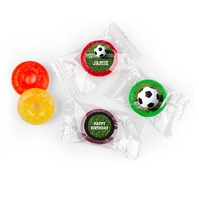 Personalized Birthday Soccer Balls Life Savers 5 Flavor Hard Candy