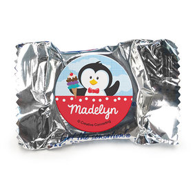 Personalized Birthday Penguin York Peppermint Patties