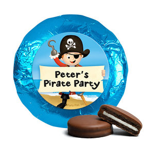 Personalized Birthday Pirate Party Belgian Chocolate Covered Oreos (24 Pack)