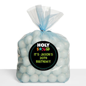 Holy Bleep Milestone Personalized Cello Bags (Set of 30)