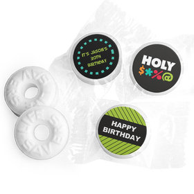 Personalized Birthday Bleep Life Savers Mints (300 Pack)