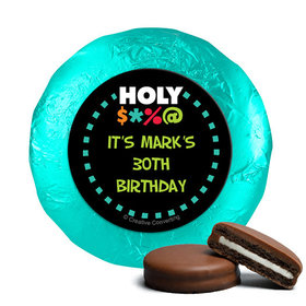 Personalized Birthday Bleep Belgian Chocolate Covered Oreos (24 Pack)