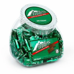 Andes Creme de Menthe Thins Tub